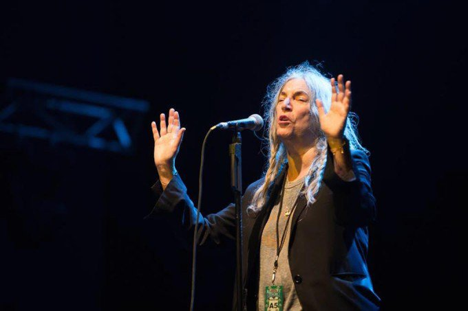 """This is goodbye"": inside Patti Smith's epic farewell to Australia - Music Junkee"