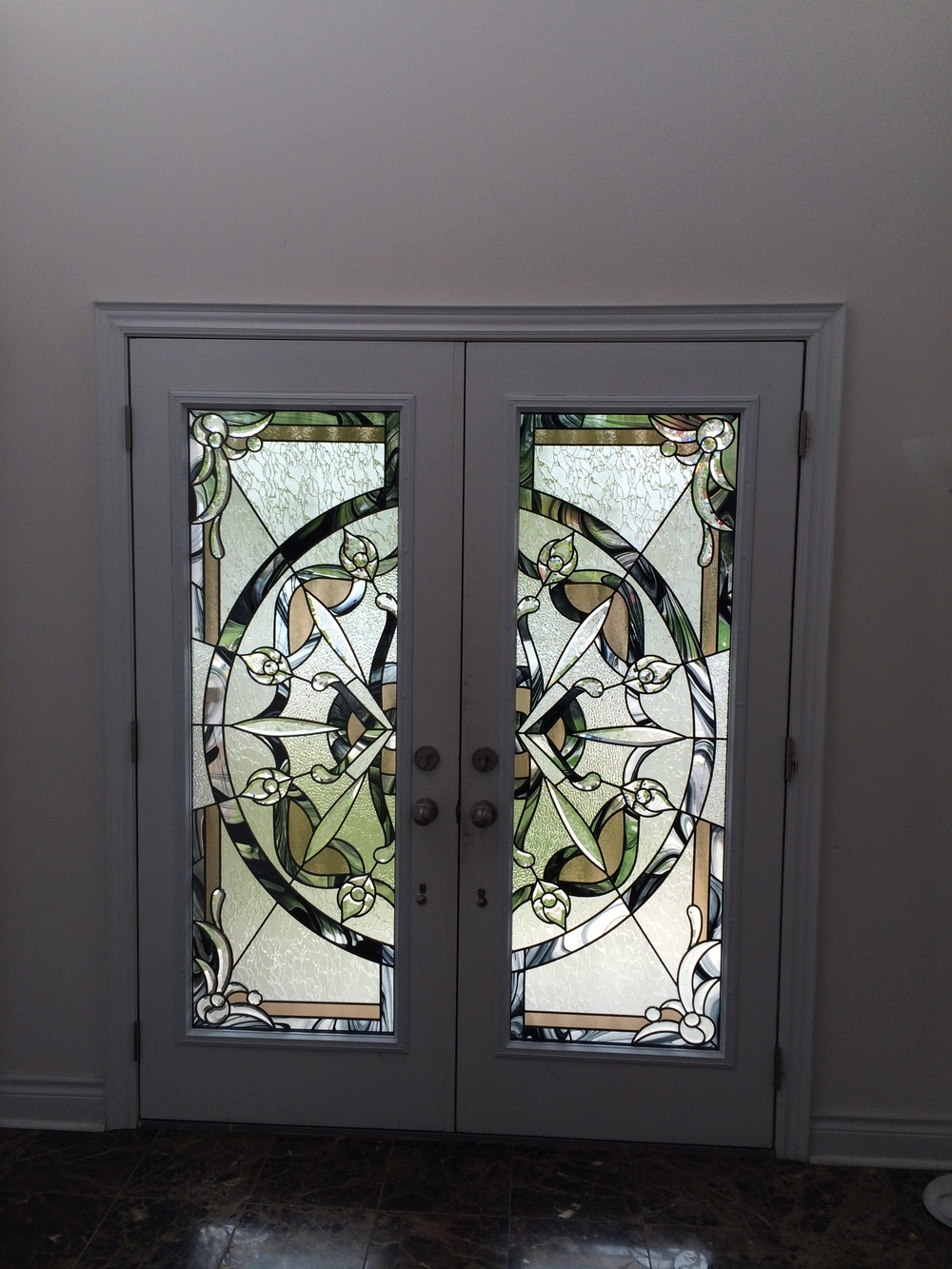 Decorative glass inserts photo gallery distinctive for Decorative glass for entry doors