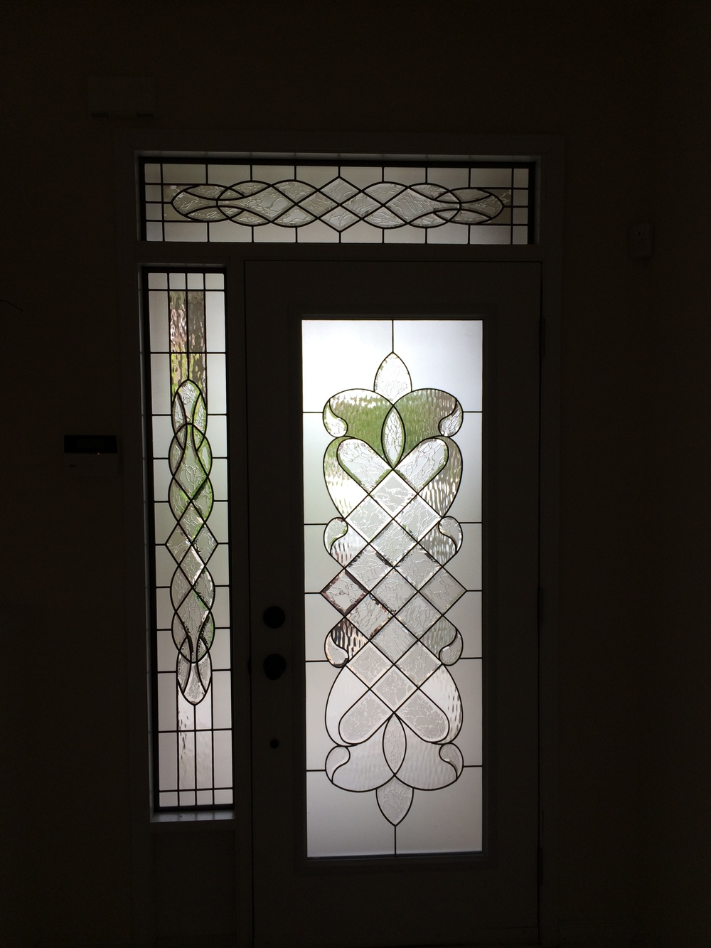 Middlesborough-Decorative-Glass-Door-Insert-installation