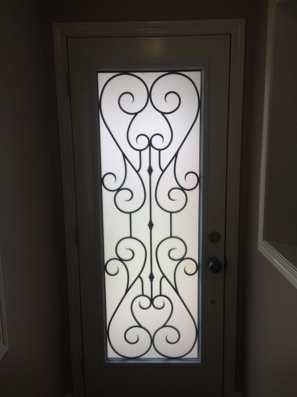 Bridgeport-Wrought-Iron-Glass-Door-Inserts-Newmarket-Ontario