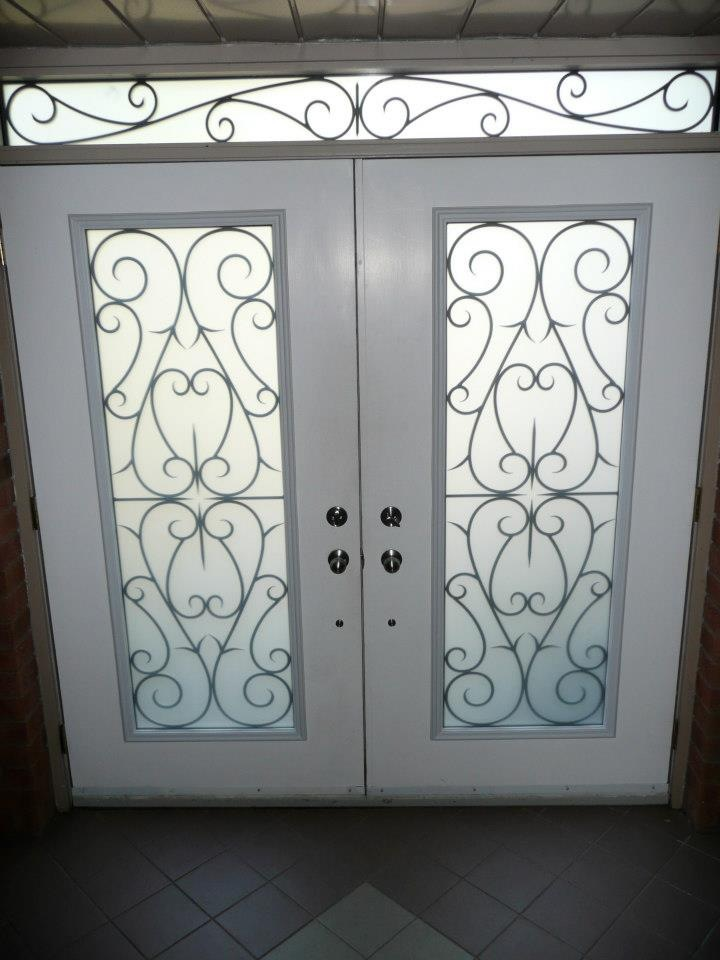 Bristol-Wrought-iron-Glass-Door-Inserts-Whitby-Ontario