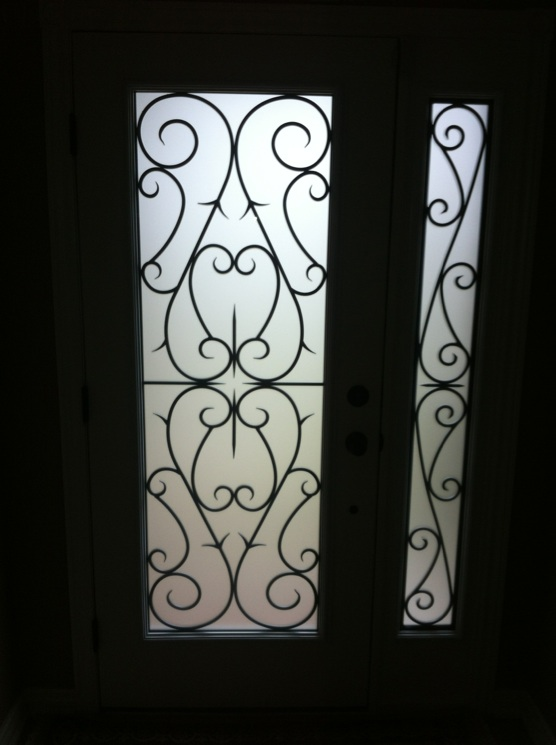 Bristol-Wrought-iron-Glass-Door-Inserts-Bowmanville-Ontario