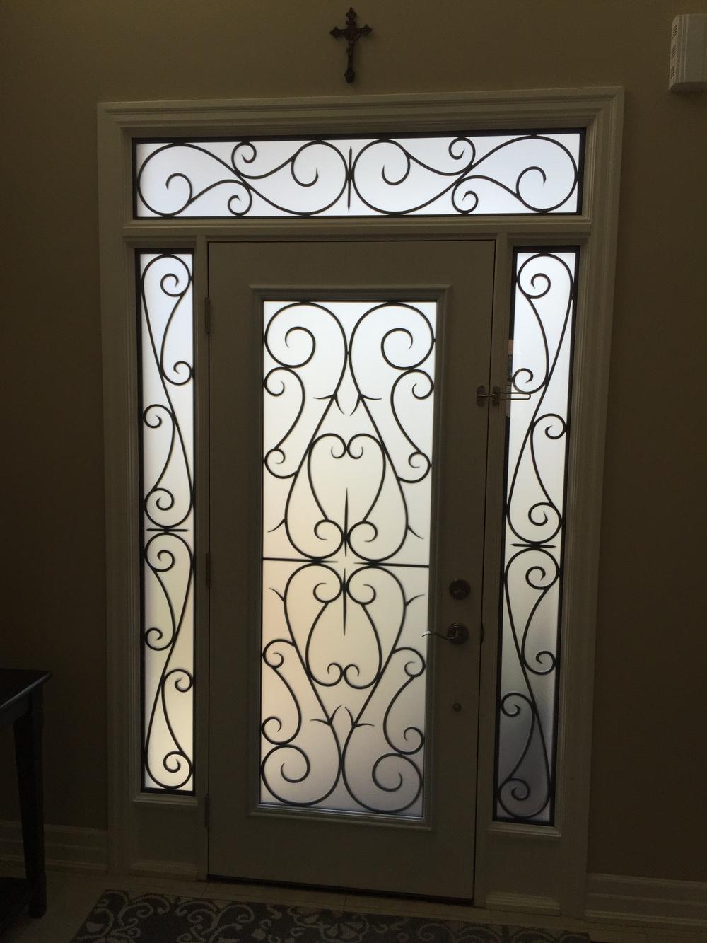 Bristol-Wrought-iron-Glass-Door-Inserts-Barrie-Ontario