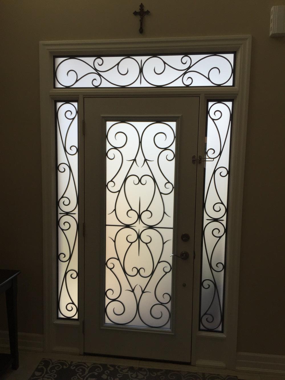 Bristol-Wrought-iron-Glass-Door-Inserts-Bradford-Ontario