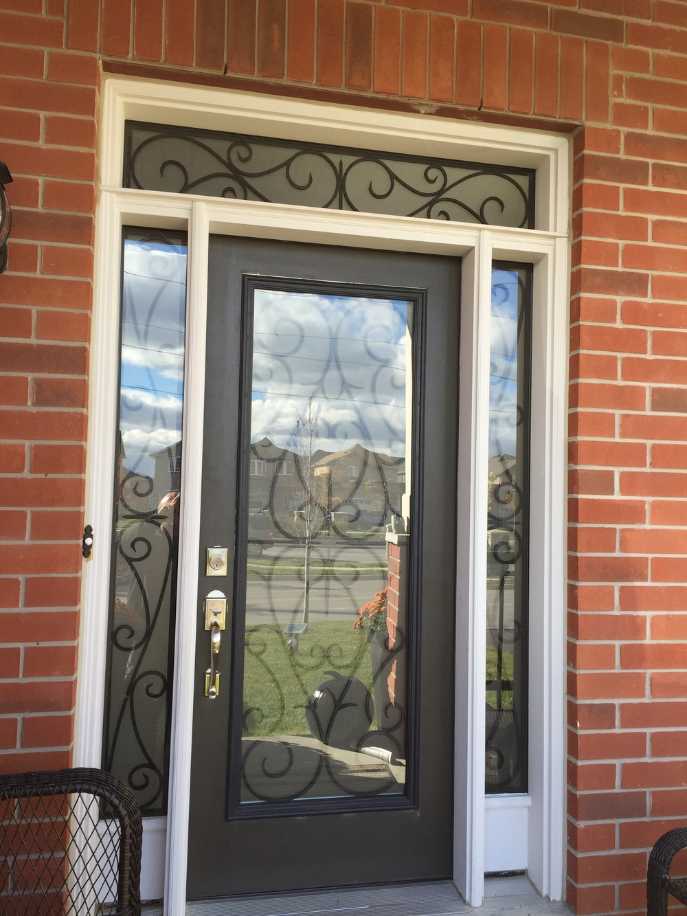 Bristol-Wrought-iron-Glass-Door-Inserts-Innisfil-Ontario