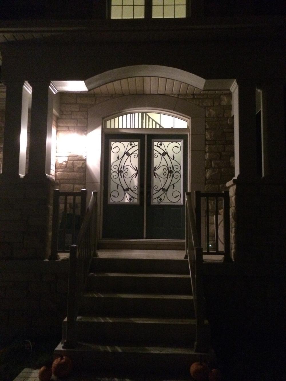 Campbellsford-Wrought-Iron-Glass-Door-Inserts-Pickering-Ontario