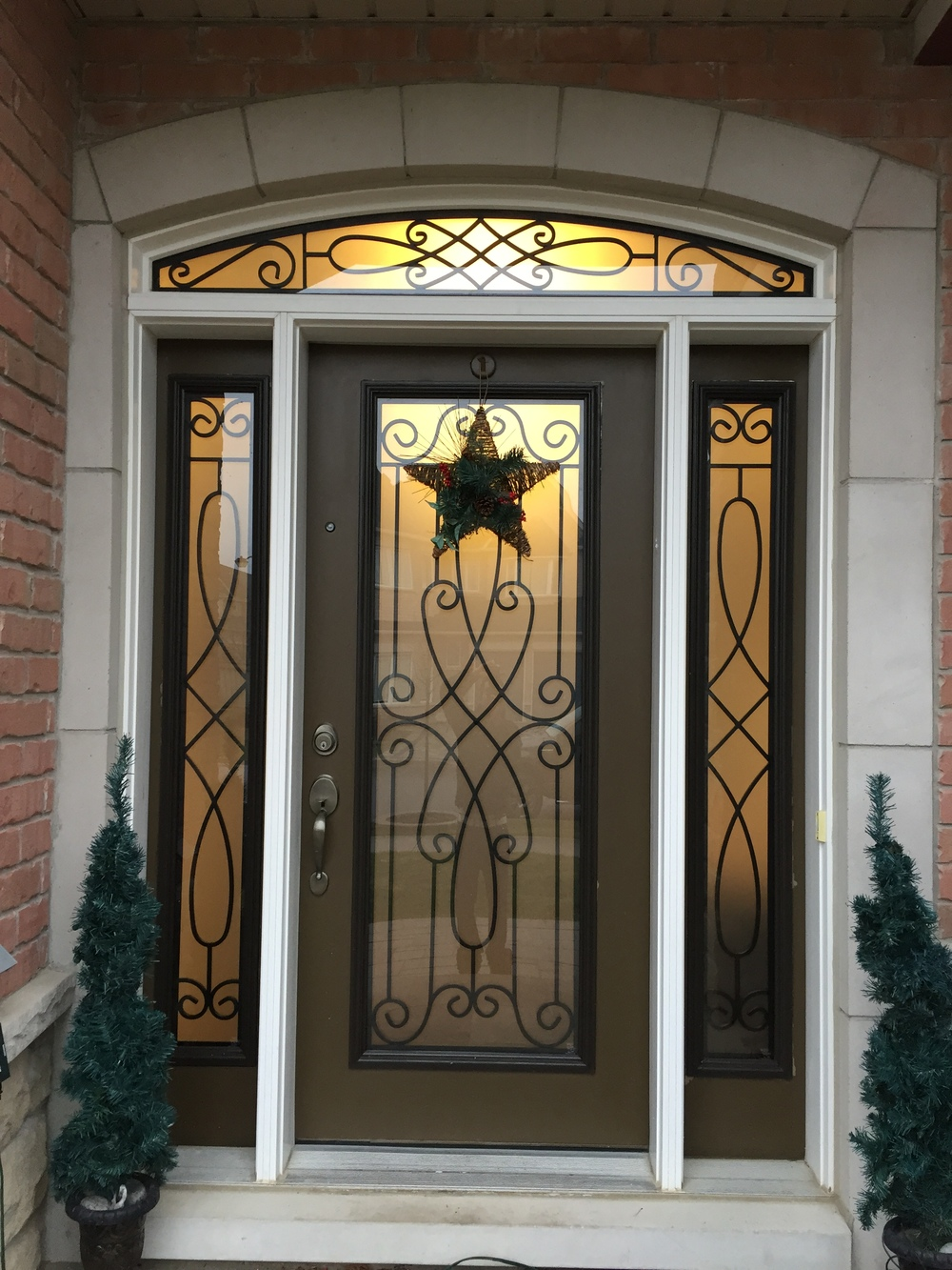 Nottingham-Wrought-Iron-Glass-Door-Inserts-Innisfil-Ontario