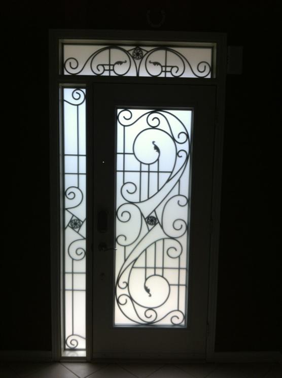 Pallmall-Wrought-Iron-Glass-Door-Inserts-Ballantrea-Ontario