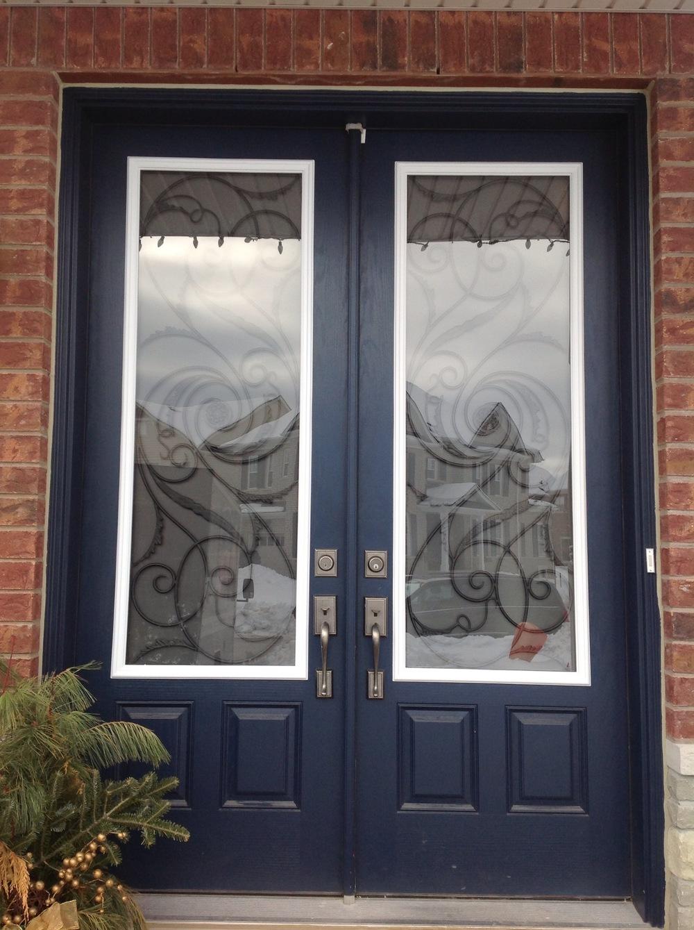 Port-Union-Wrought-Iron-Glass-Door-Inserts-Burlington-Ontario
