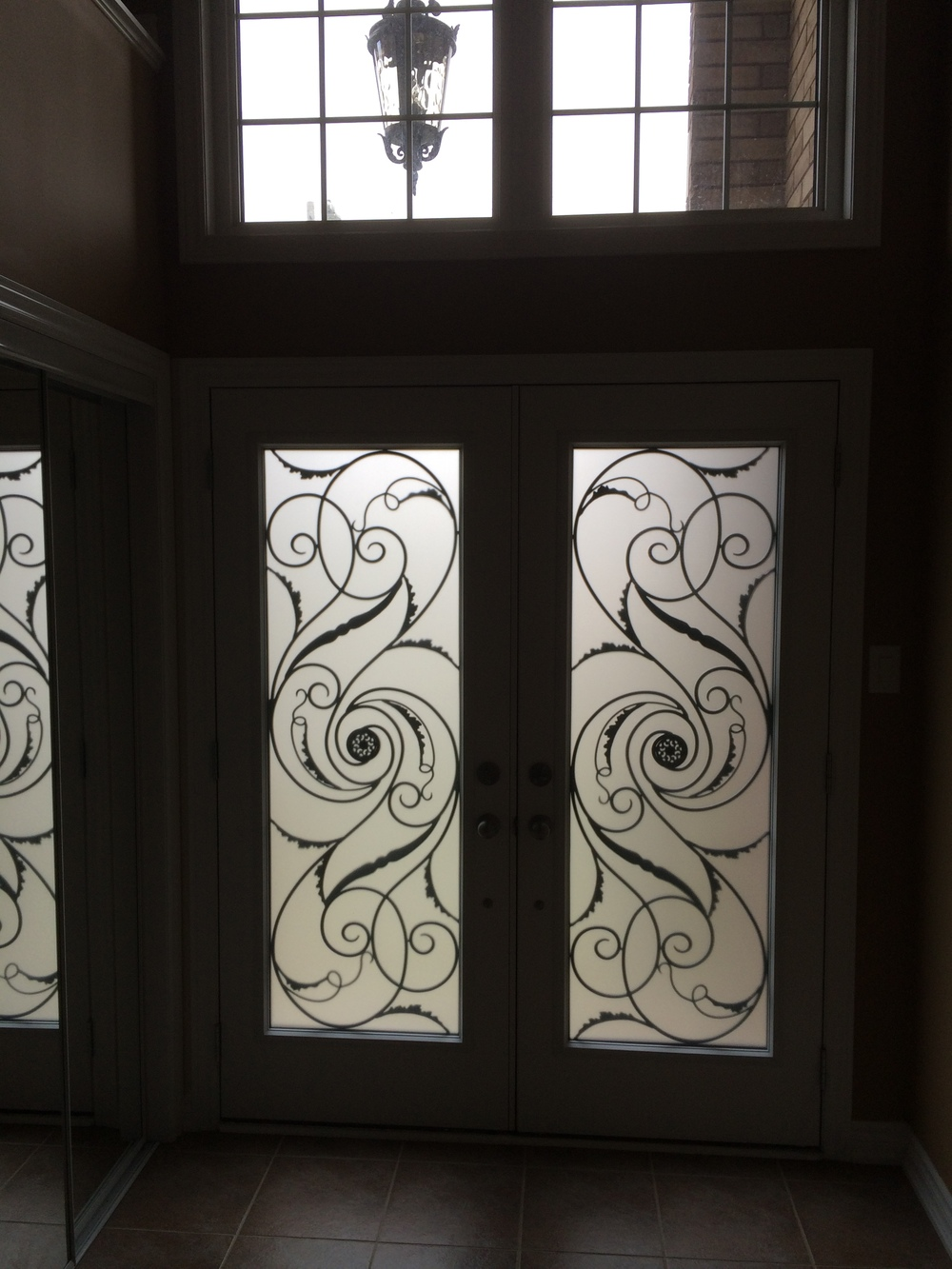 Port-Union-Wrought-Iron-Glass-Door-Inserts-Gravenhurst-Ontario