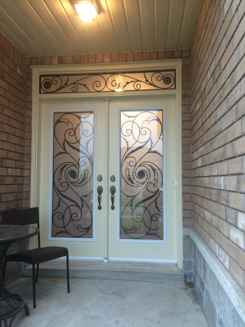 Port-Union-Wrought-Iron-Glass-Door-Inserts-Guelph-ontario