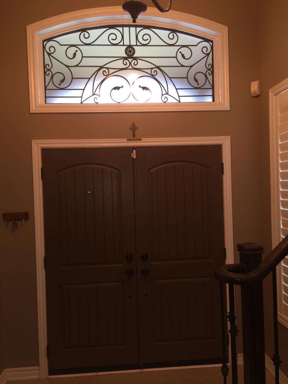 Rochester-Wrought-Iron-Glass-Door-Inserts-Milton-Ontario