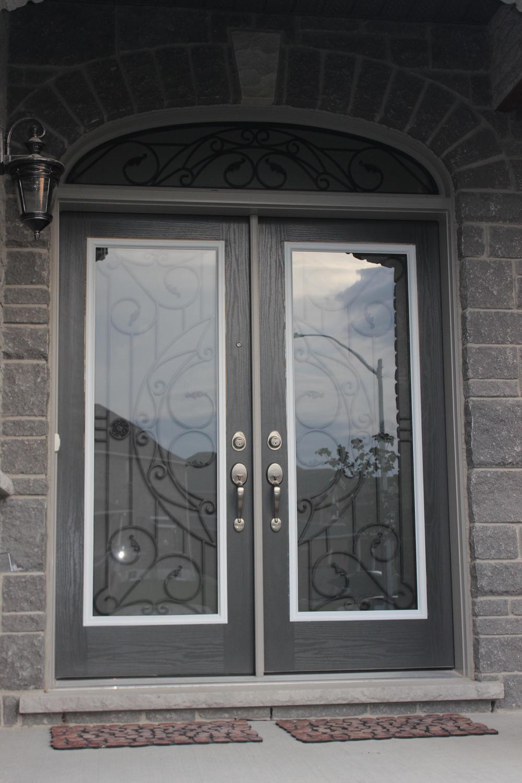 Rochester-Wrought-Iron-Glass-Door-Inserts-Midhurst-ontario