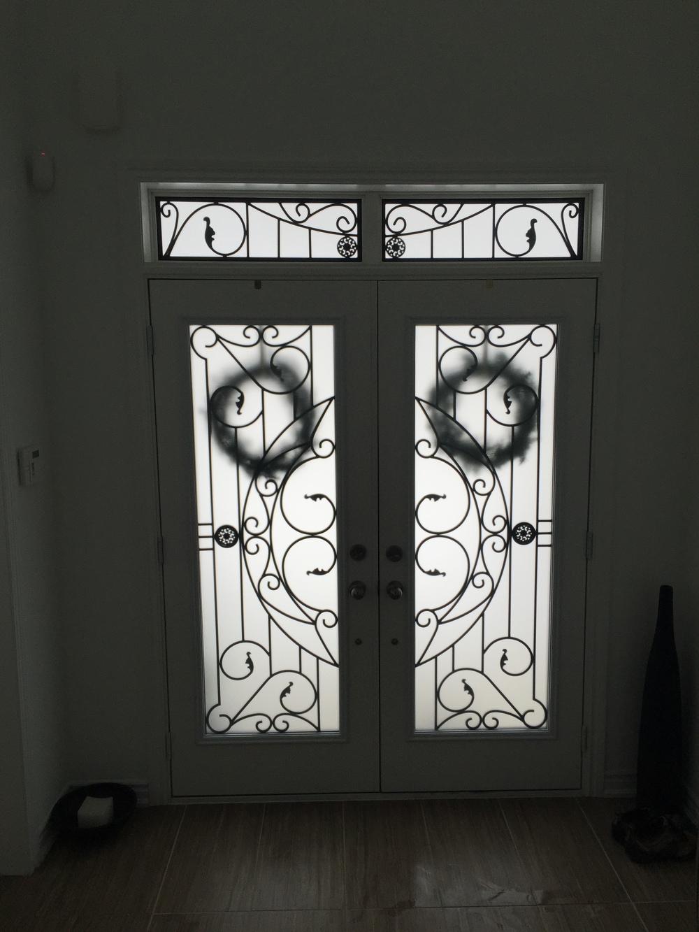 Rochester-Wrought-Iron-Glass-Door-Inserts-Mount-Albert-Ontario