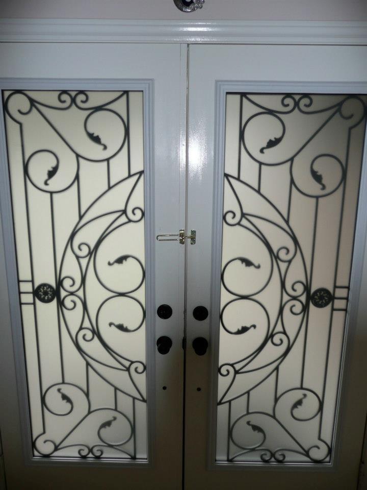 Rochester-Wrought-Iron-Glass-Door-Inserts-Niagara-Falls