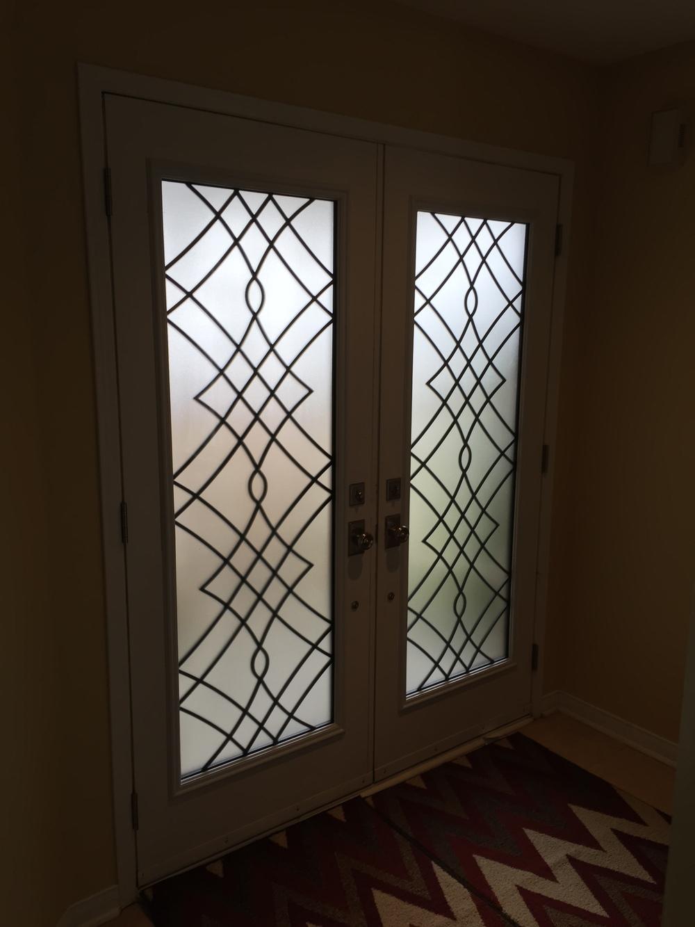 Oakridge-Wrought-Iron-Glass-Door-Inserts-Ancaster-Ontario