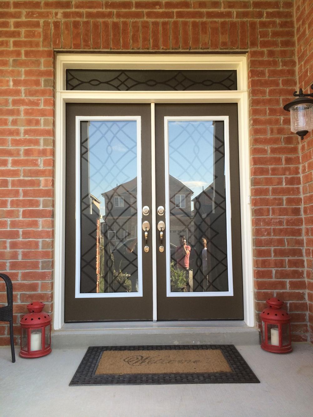 Oakridge-Wrought-Iron-Glass-Door-Inserts-Burlington-Ontario