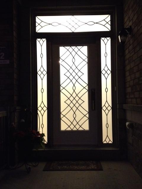 Oakridge-Wrought-Iron-Glass-Door-Inserts-Richmond-Hill-Ontario