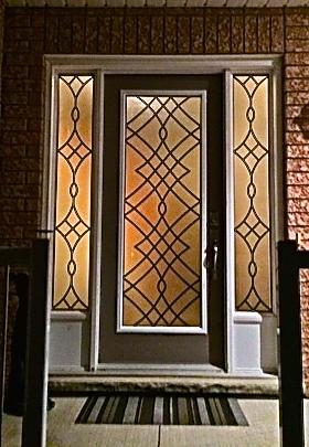 Oakridge-Wrought-Iron-Glass-Door-Inserts-Ajax-Ontario