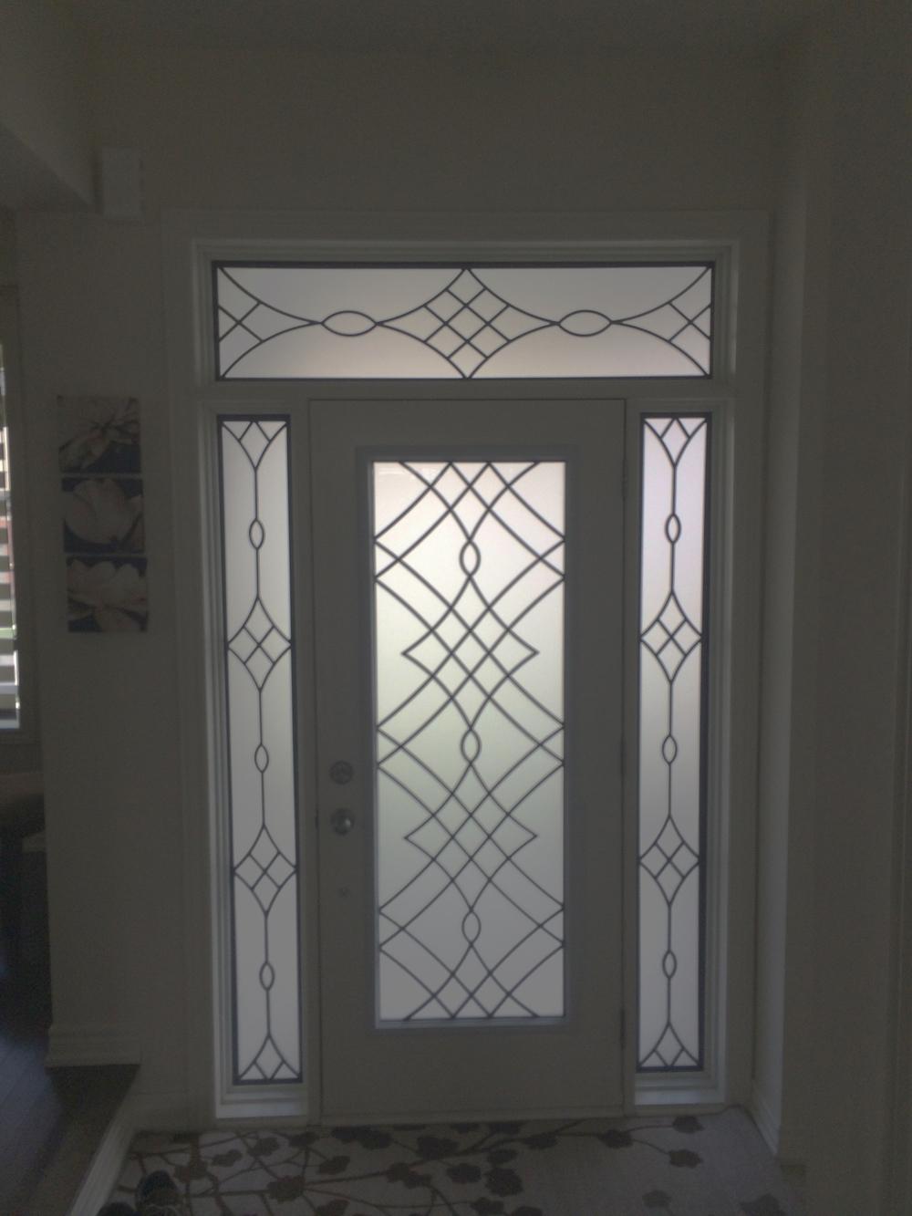 Oakridge-Wrought-Iron-Glass-Door-Inserts-Orangeville-Ontario