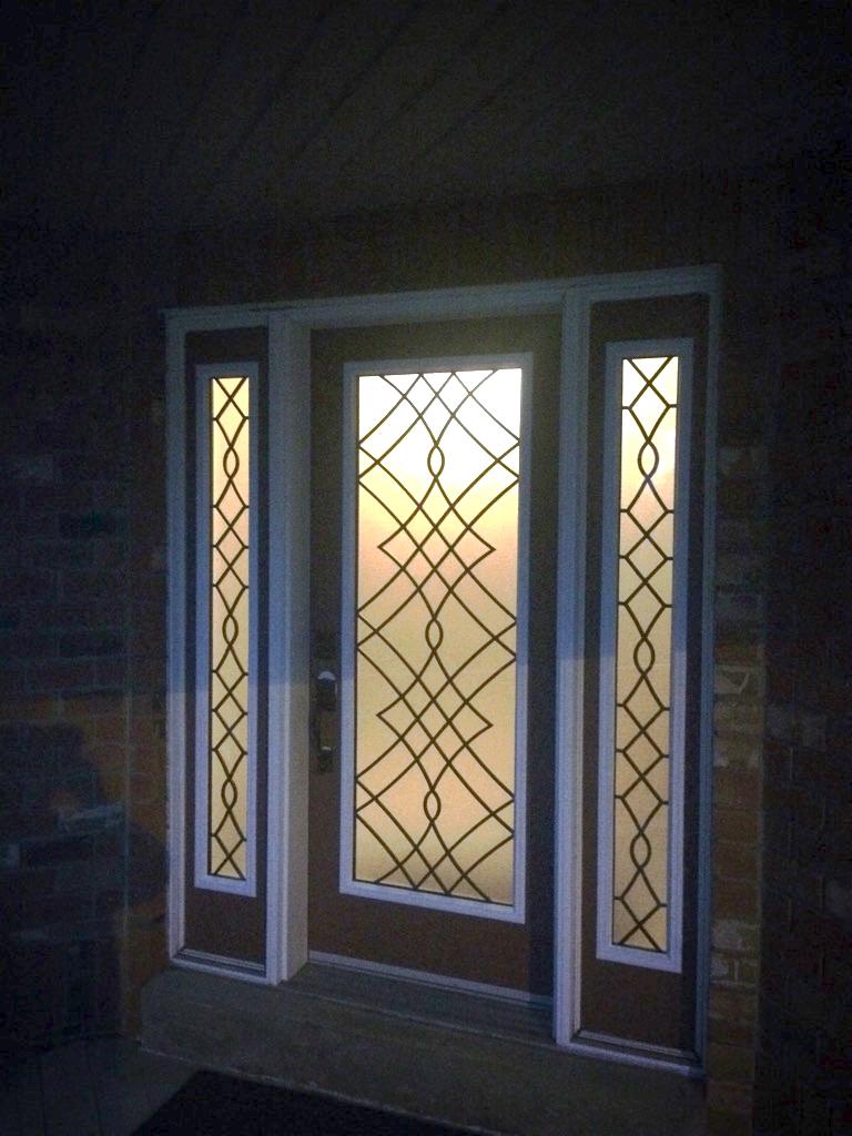 Oakridge-Wrought-Iron-Glass-Door-Inserts-Brampton-Ontario