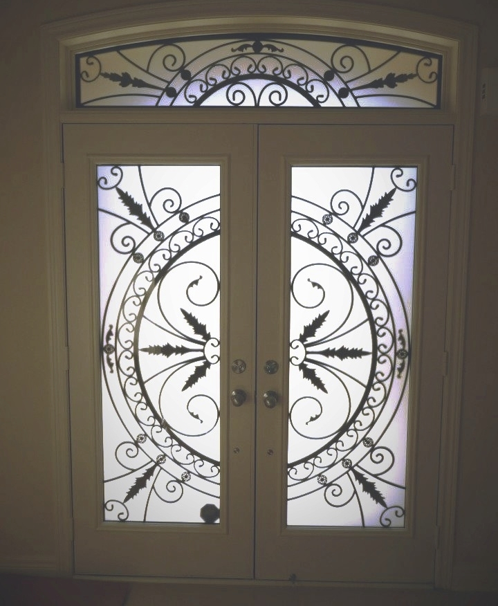 Chesterfield-wrought-Iron-Glass-Door-Inserts-Pickering-Ontario
