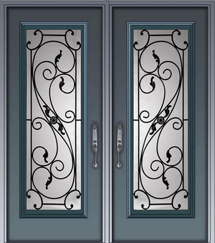 Wrought iron glass door inserts distinctive glass inserts wrought addison a planetlyrics Choice Image