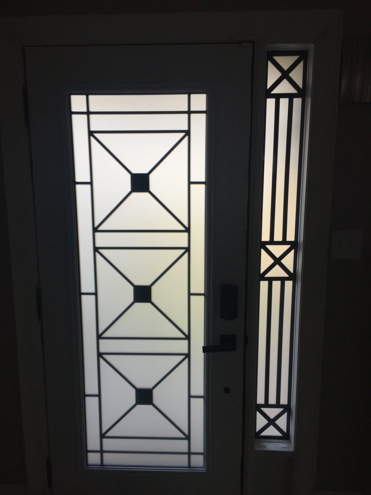 Distinctive Glass Inserts Installation In Muskoka On Distinctive