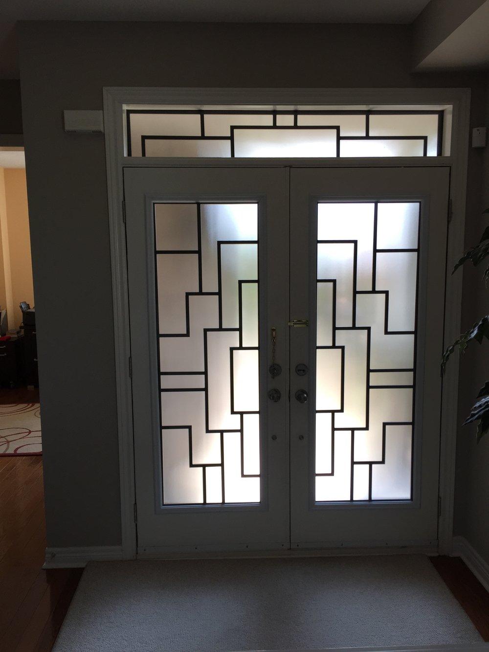 Malibu-Wrrought-Iron-Glass-Door-Inserts-Brampton-Ontario