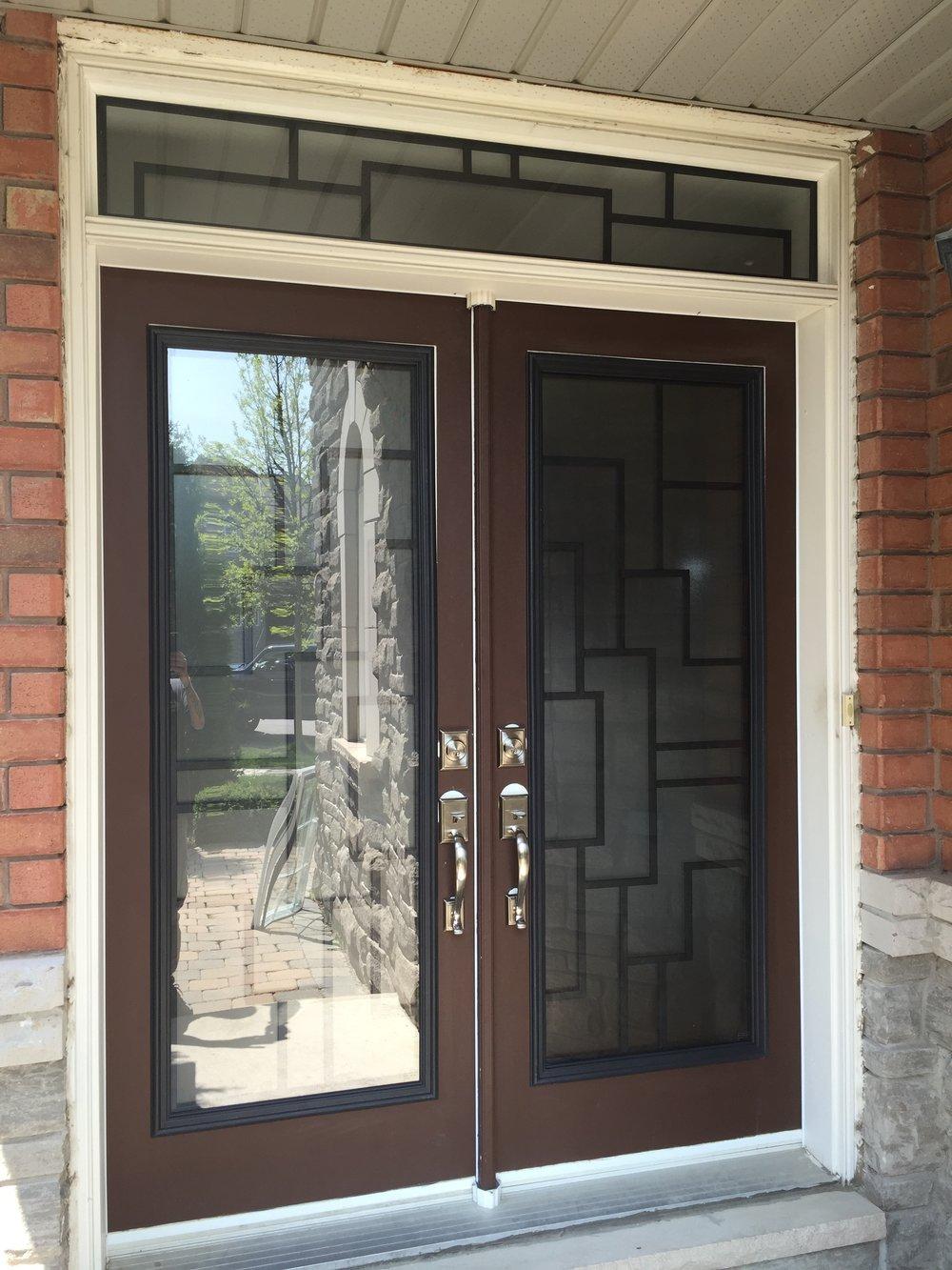 Malibu-Wrrought-Iron-Glass-Door-Inserts-Ajax-Ontario