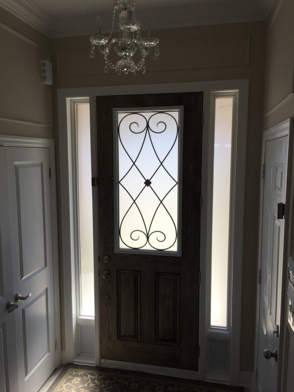 Beverly-Hills-Wrought-Iron-glass-Door-Inserts-King-City-Ontario