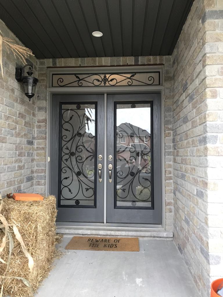 Campbellsford-Wrought-Iron-Glass-Door-Inserts-Newmarket