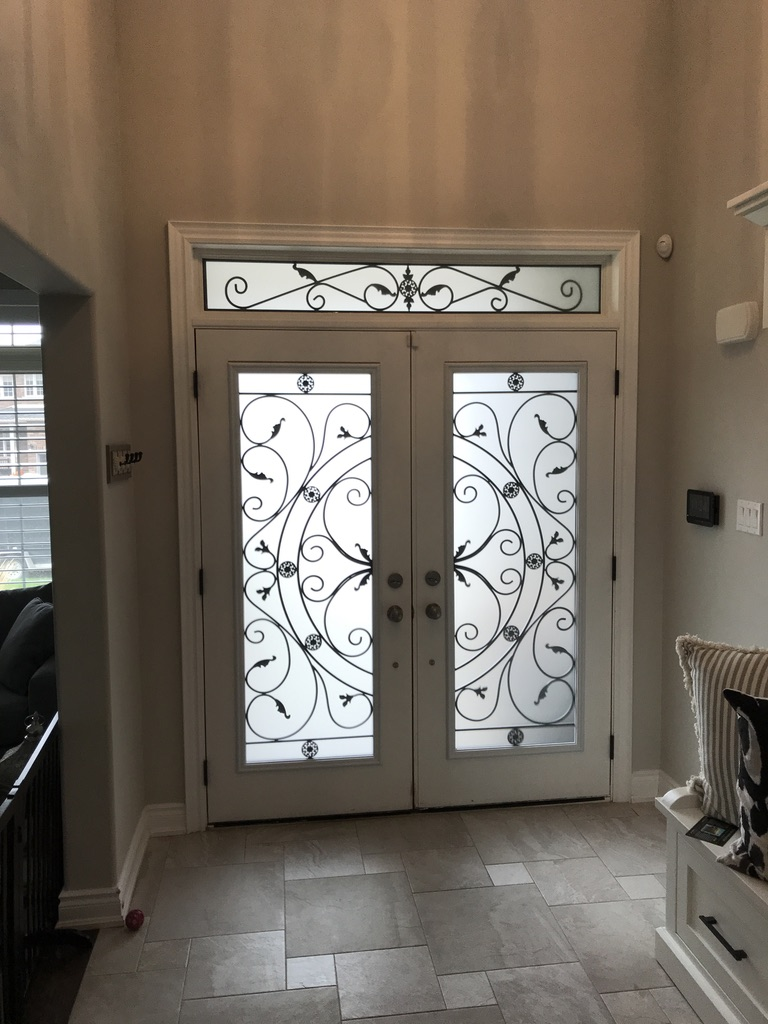 Campbellsford-Wrought-Iron-Glass-Door-Inserts-Barrie