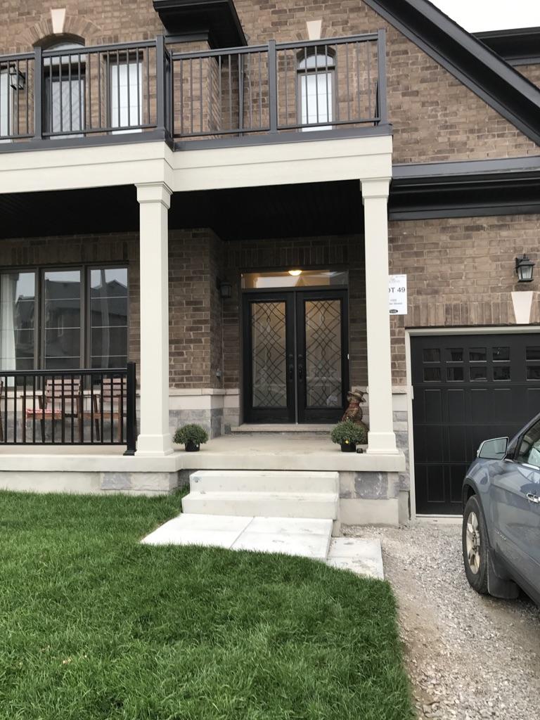 Oakridge-Wrought-Iron-Glass-Door-Inserts-Bowmanville-Ontario