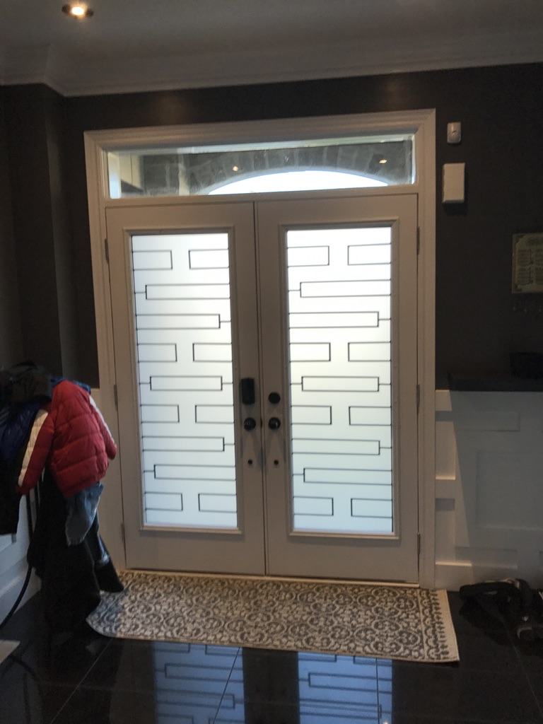 Zen-wrought-iron-glass-door-inserts-installtion-newmarket-on
