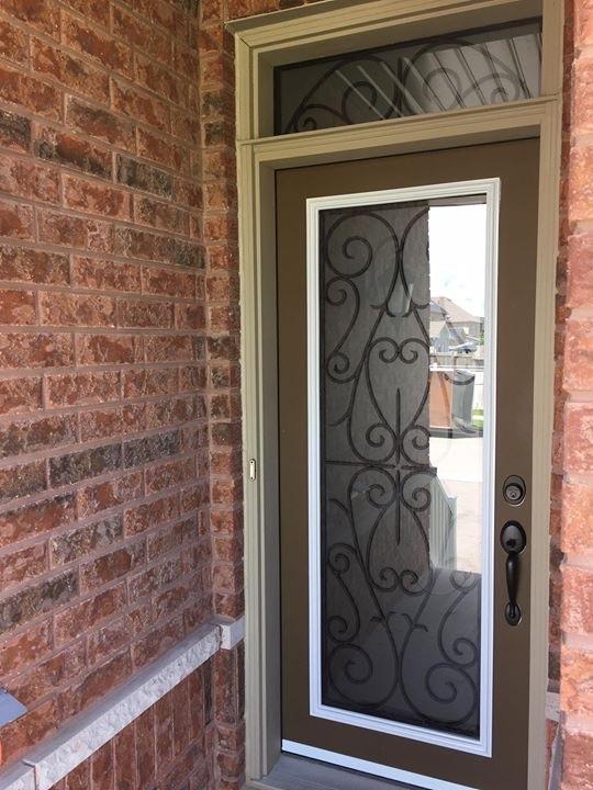 Bristol-Wrought-iron-Glass-Door-Inserts-Vaughan-Ontario