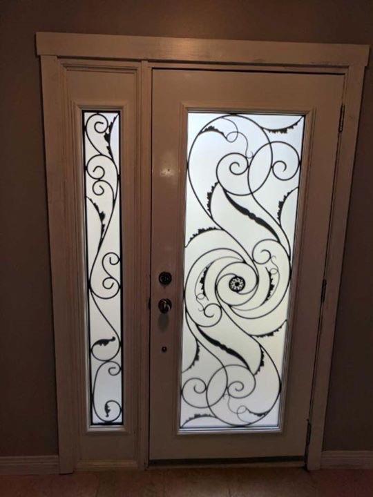Port-Union-Wrought-Iron-Glass-Door-Inserts-Georgina-Ontario