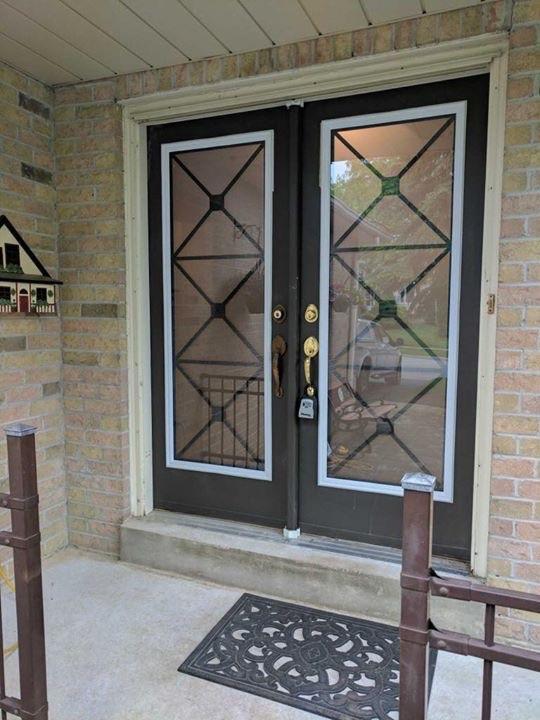X-Design-Wrought-Iron-Glass-Door-Inserts-Brampton-Ontario