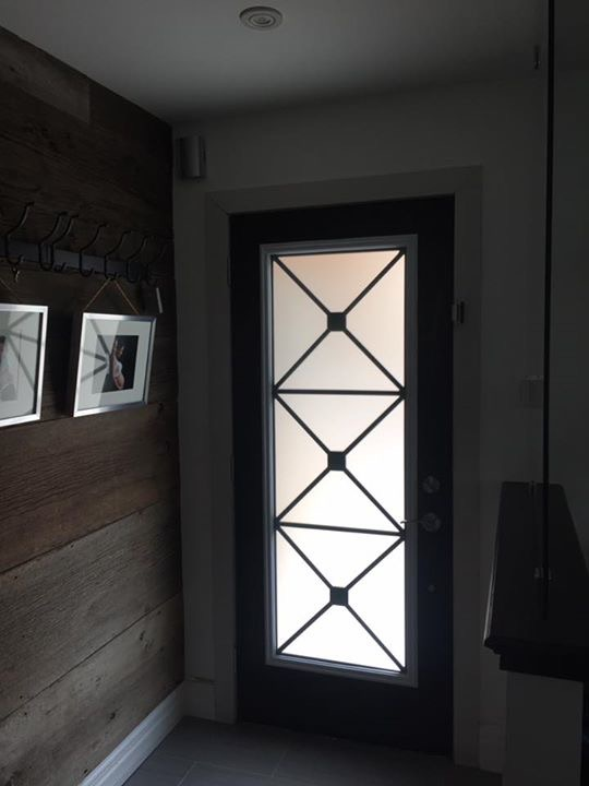 X-design-Wrought-iron-Glass-Door-Inserts-Sharon-Ontario