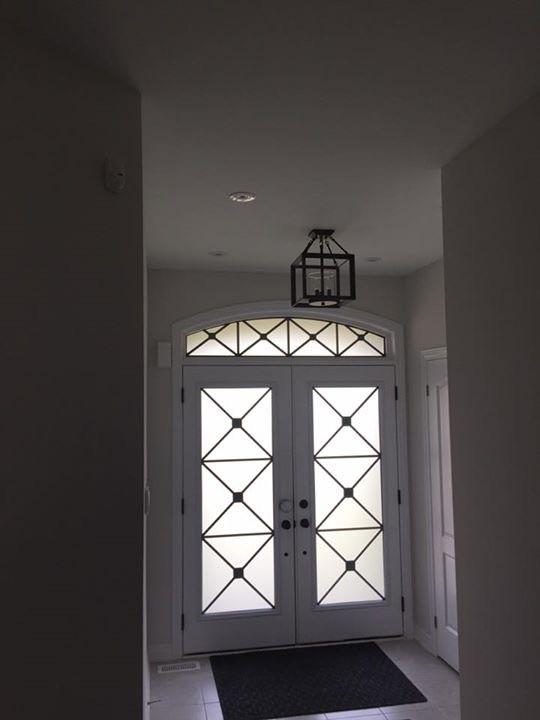 x-design-wrought-iron-glass-door-inserts-installtion-in-richmond-hill-on