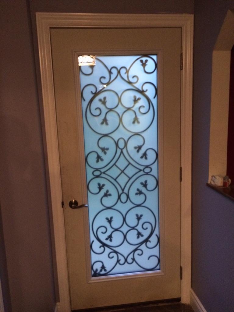 Dovershire-wrought-iron-glass-door-inserts-Markham-ontario