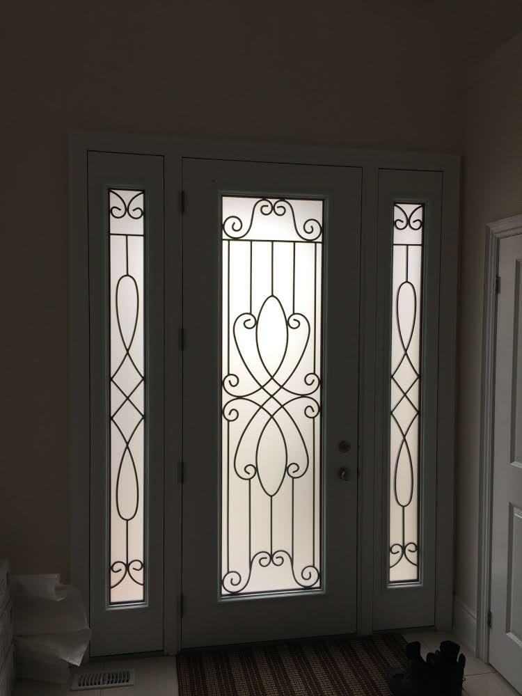 Nottingham-Wrought-Iron-Glass-Door-Inserts-Tottenham-Ontario
