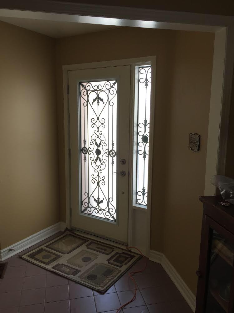 Port-Stnley-Wrought-iron-Glass-Door-Inserts-Bracebridge-Ontario