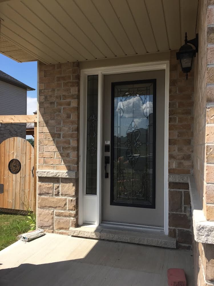 Kingston-decorative-glass-door-insert-installtion