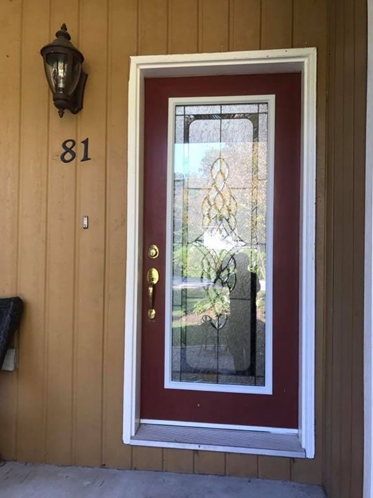 Northbay-decorative-glass-door-insert-installtion