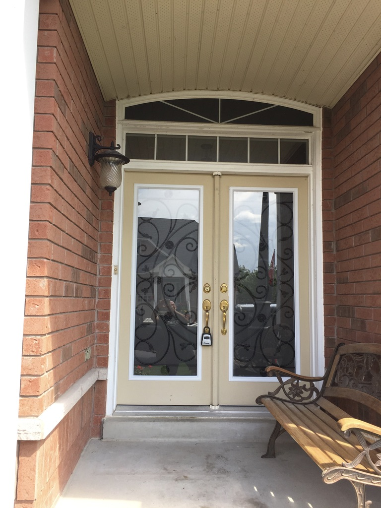 Campbellsford-Wrought-Iron-Glass-Door-Inserts-Innisfil-Ontario