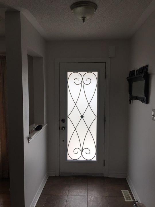 Beverly-Hills-Wrought-iron-Glass-door-Inserts-Ajax-Ontario