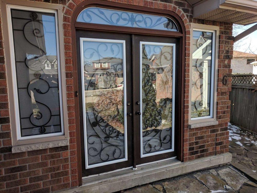 Palos-verdes-wrought-iron-glass-door-inserts-hamilton-Ontario