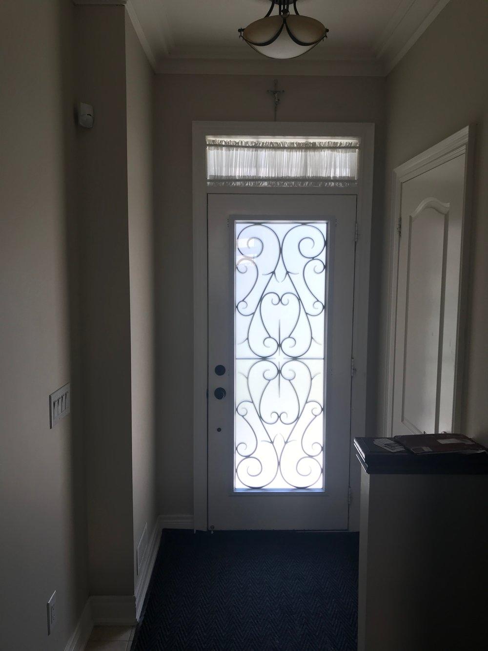 Bristol-Wrought-iron-Glass-Door-Inserts-Brampton-Ontario