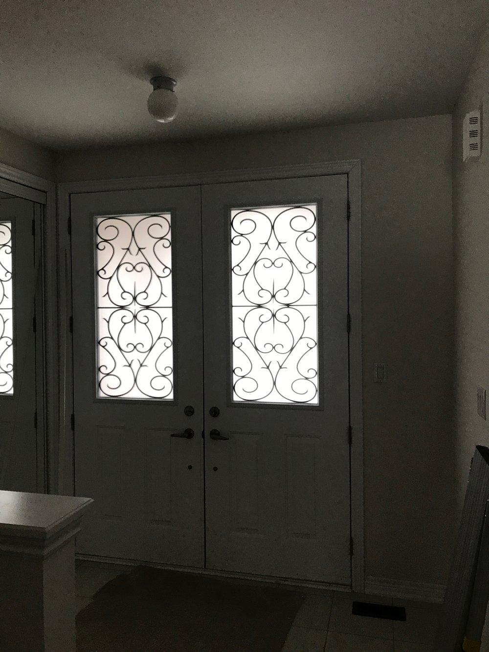 Bristol-Wrought-iron-Glass-Door-Inserts-Mississauga-Ontario